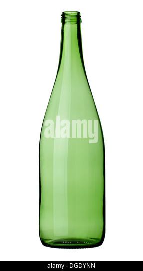 broken glass bottle - Stock Image
