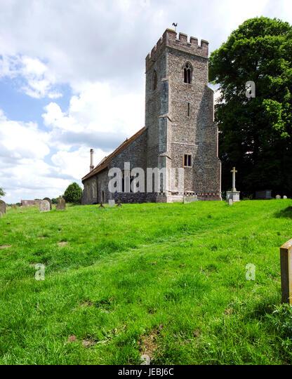 Bulmer Parish Church - Stock Image