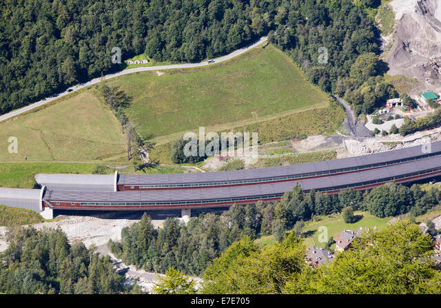 mont blanc tunnel entrance stock photos mont blanc tunnel entrance stock images alamy. Black Bedroom Furniture Sets. Home Design Ideas