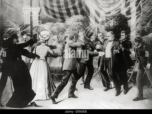 the assassination of william mckinley the 25th president of the united states 25th us president william mckinley  he served as president from march 4,  1897, until his assassination in september 1901, six months into his second term.