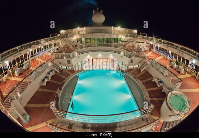 Cruise Ship At Night Stock Photos Cruise Ship At Night Stock Images Alamy