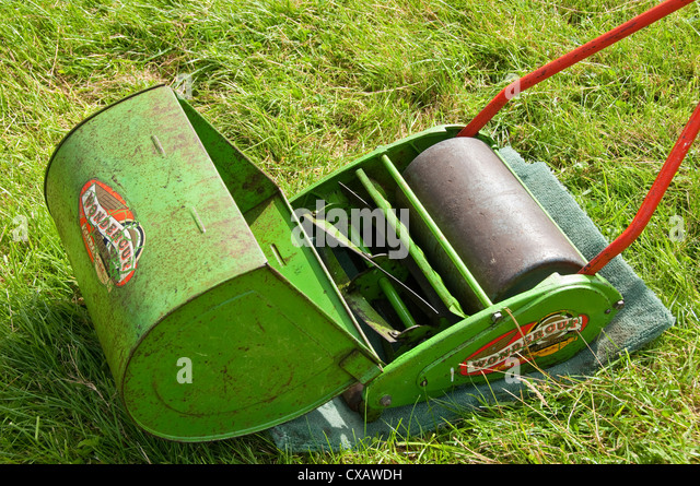 old lawnmower stock photos old lawnmower stock images alamy. Black Bedroom Furniture Sets. Home Design Ideas