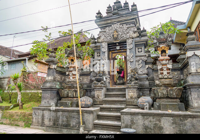Indonesia Traditional Architecture Stock Photos
