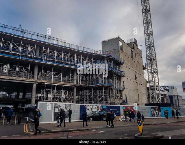 Tottenham Hotspur Stadium Construction Stock Photos