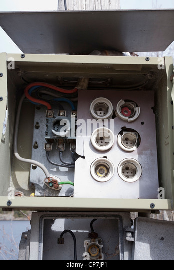 early 1900s fuse box
