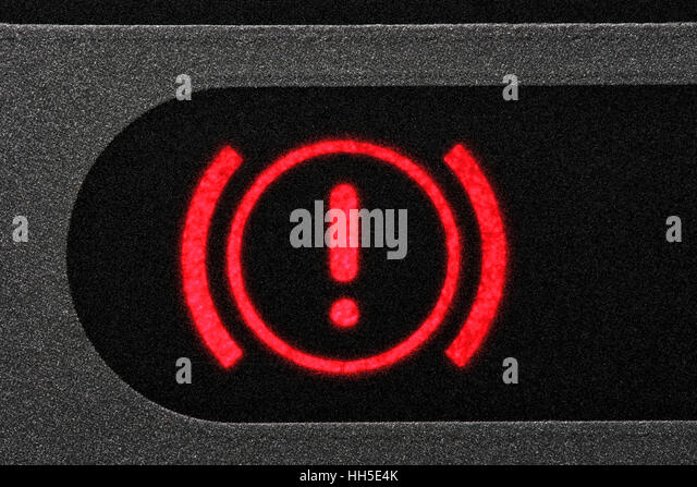 Warning Light Dashboard Stock Photos  Warning Light Dashboard - Car sign on dashboard