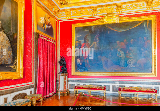 Palace versailles salon de mars stock photos palace for Salon versailles 2016