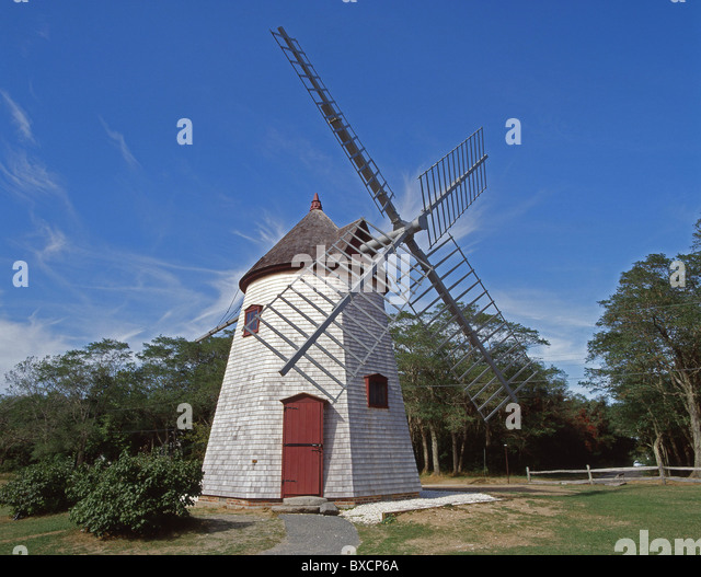 Windmill Cape Cod Part - 15: Historical Eastham Windmill, Eastham, Cape Cod, Massachusetts, United  States Of America -