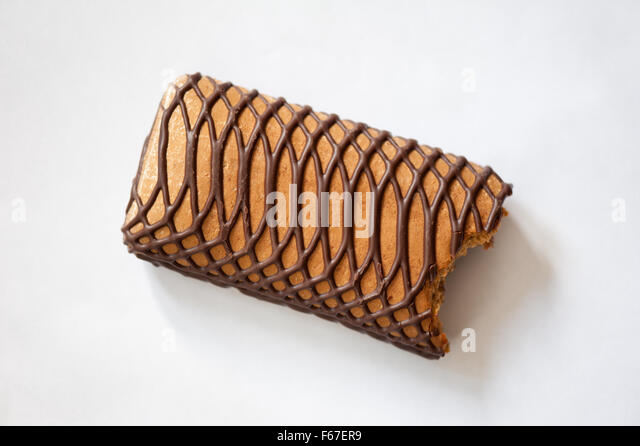 Nibbled stock photos nibbled stock images alamy for Chocolate gingerbread twigs