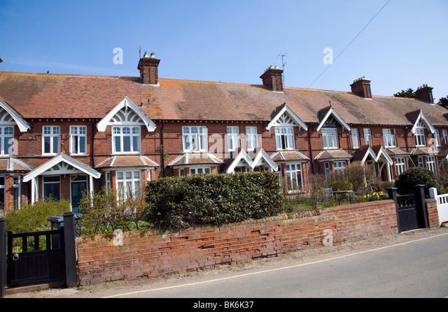 Edwardian terrace houses stock photos edwardian terrace for 6 the terrace walberswick