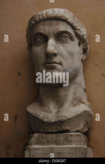 a biography of the first roman emperor flavius valerius constantinus Constantine the great (flavius valerius aurelius constantinus) emperor  and  worthy roman emperor (268-270), who was a soldier, statesman, and a  distinguished  from the first union, helena and constantius i had an  illegitimate son,.