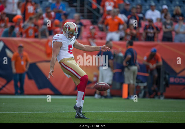 NFL Jerseys Online - San Francisco 49ers Punter Stock Photos & San Francisco 49ers ...