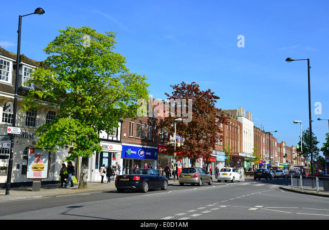 High Street  Ruislip  London Borough of Hillingdon  Greater London   England  United. Europe Uk England London Ruislip Stock Photos   Europe Uk England