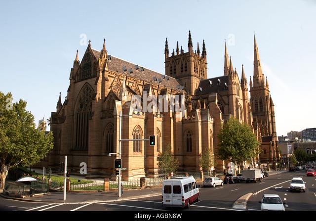 Saint Marys Australia  City new picture : Australia St Marys Cathedral Outdoors Stock Photos & Australia St ...