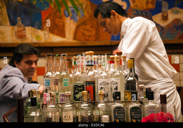 Mezcal stock photos mezcal stock images alamy for El mural restaurante puebla