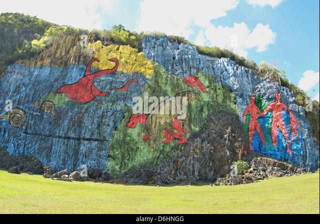 Prehisto stock photos prehisto stock images alamy for Mural de la prehistoria