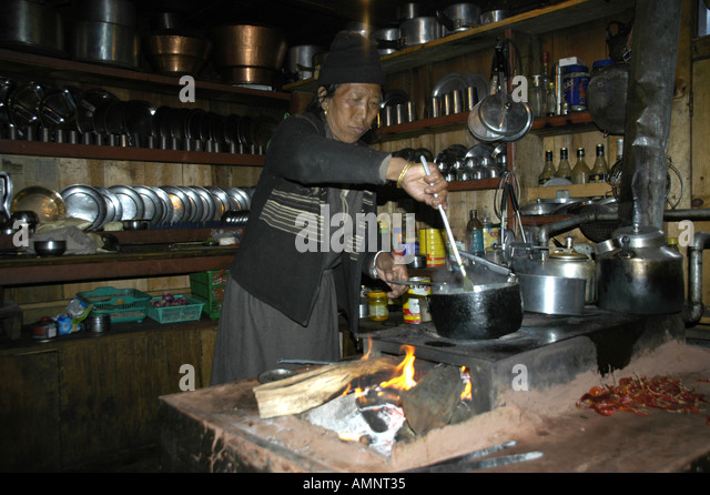 Hearth kitchen stock photos hearth kitchen stock images for Kitchen set in nepal