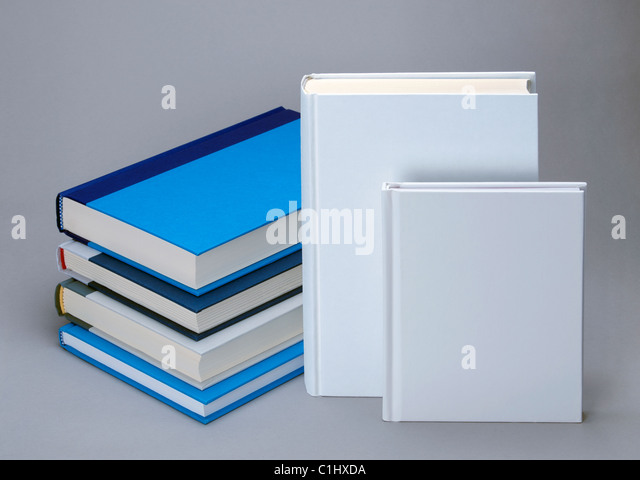 Plain White Book Cover : Plain white book cover stock photos