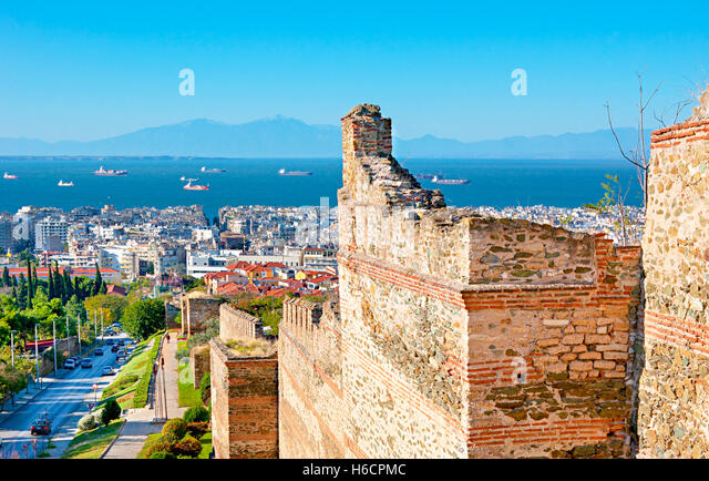 Thessaloniki Byzantine Stock Photos & Thessaloniki ...