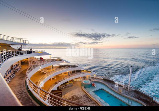 Aft Rear Open Deck Cruise Stock Photos Aft Rear Open Deck Cruise - What is the aft of a cruise ship