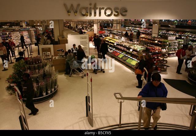 Waitrose Shopping Stock Photos Waitrose Shopping Stock