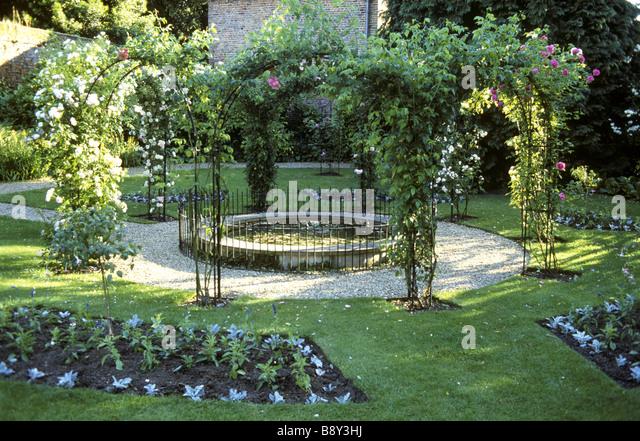 Peckover house stock photos peckover house stock images for Circular garden ponds