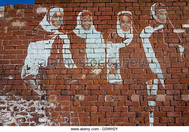 Wall Art For Brick : Legal graffiti wall art stock photos