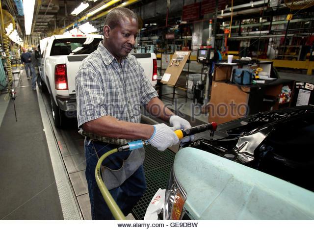 Flint Michigan General Motors Stock Photos Flint