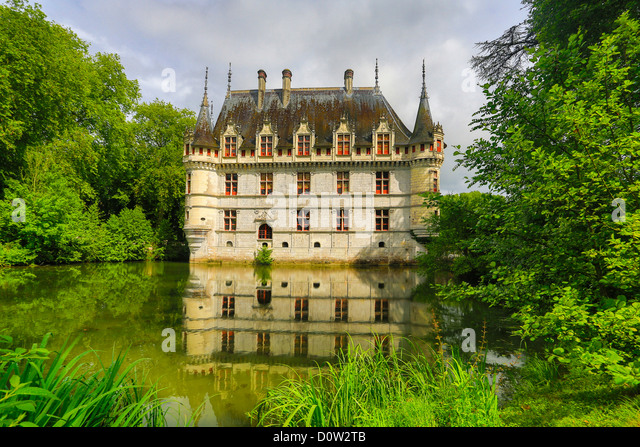 azay le rideau stock photos azay le rideau stock images alamy. Black Bedroom Furniture Sets. Home Design Ideas