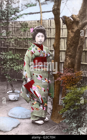 Geisha girl historical pictures