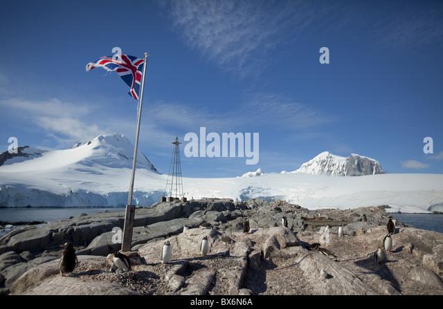 Antarctic Research Station Stock Photos & Antarctic