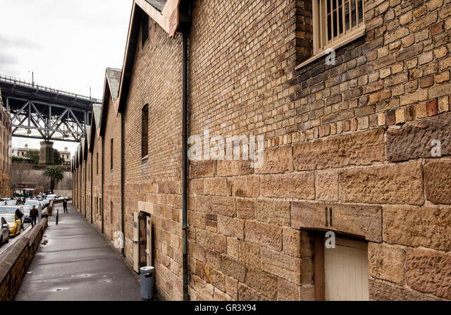 The Rocks Sydney Brick Stock Photos The Rocks Sydney