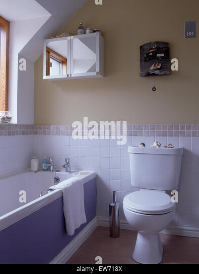 Bathroom cabinet country stock photos bathroom cabinet Mauve bathroom