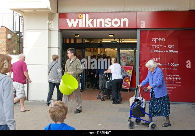 Wilkinsons Mansfield Car Park