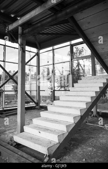 Staircase Stairs Building Unfinished Stock Photos & Staircase ...