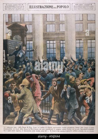 the wall street crash of 1929 The wall street crash of 1929 kicked off the great depression and brought the global financial system to its knees the rapid and systemic nature of the collapse was predicated on the widespread.