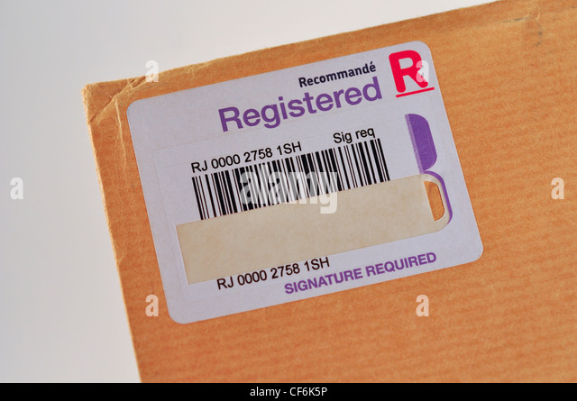 how to send registered post with acknowledgement in india