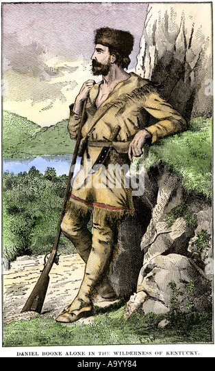 a biography of daniel boone an american pioneer explorer woodsman and frontiersman Daniel boone was an american frontiersman and explorer, best known for his travels in what is now kentuckyhis most famous journey came in 1775, when he established the wilderness road across the appalachians.
