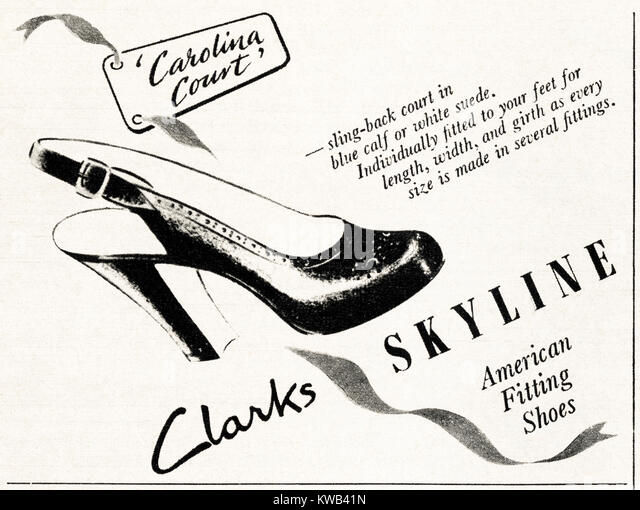 Clarks Shoes Bus Advert
