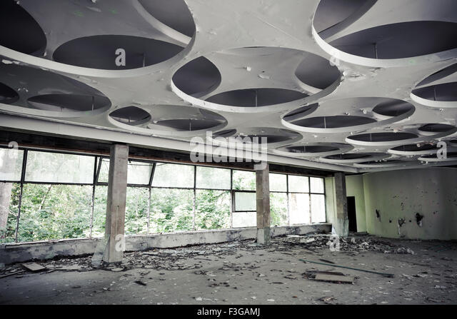 Broken Ceiling Stock Photos amp Images Alamy