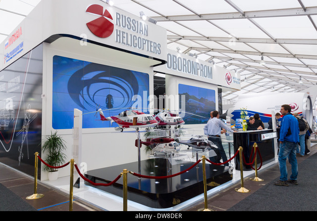 Exhibition Stand Russia : Russian helicopters stock photos