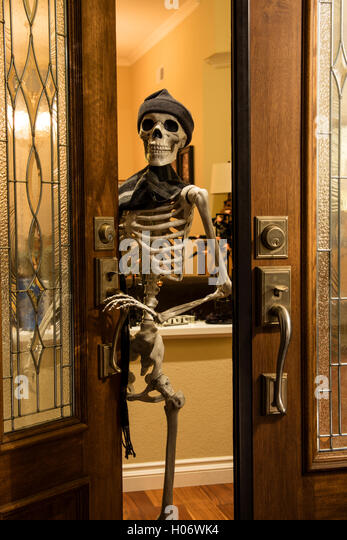 Decorating Ideas > Black Creepy Door Stock Photos & Black Creepy Door Stock  ~ 151936_Halloween Door Greetings