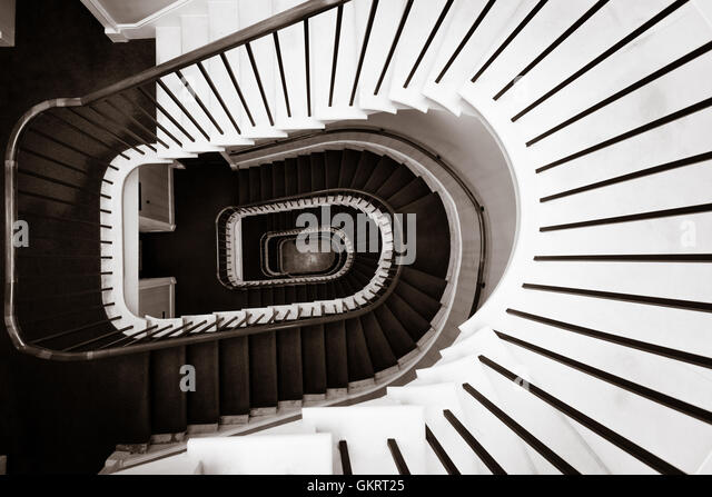 Spiral Staircase In London, United Kingdom   Stock Image