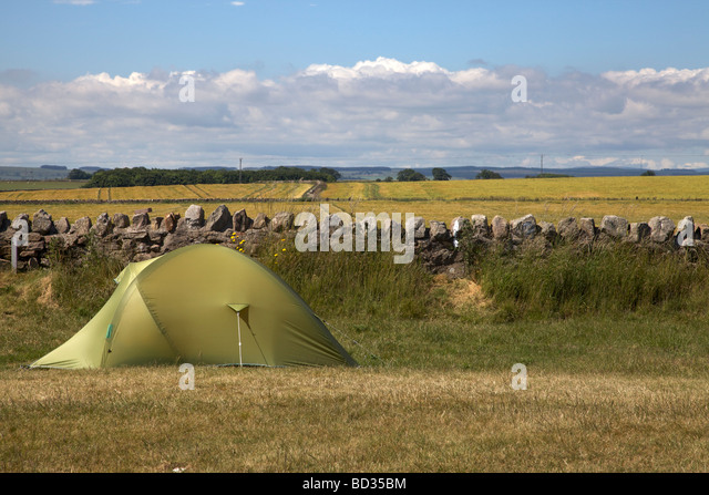 C&ing at Beadnell Bay C&ing and Caravan Club site Beadnell Bay Northumberland Northeast & Tent Marker Stock Photos u0026 Tent Marker Stock Images - Alamy