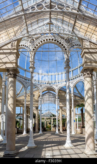 Interior Of The Great Conservatory In Gardens Syon House Park West