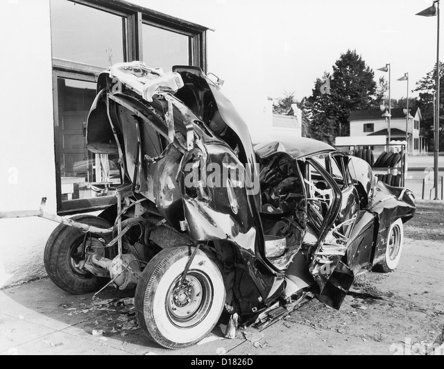 1950 S Car Crash Stock Photos Amp 1950 S Car Crash Stock
