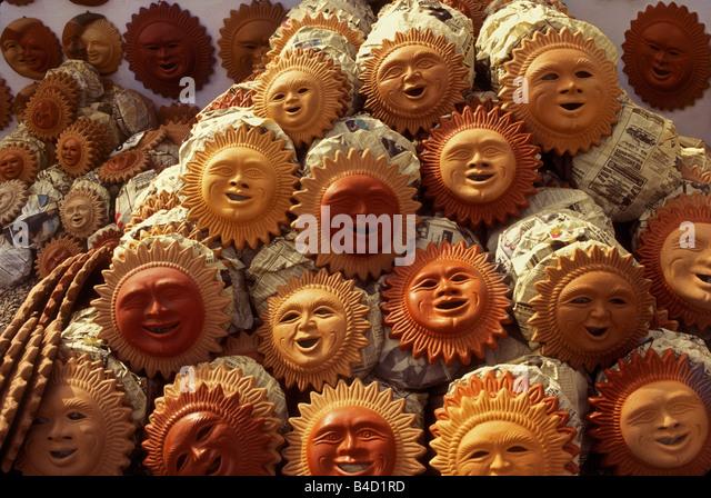 Pottery Sun Face Stock Photos Amp Pottery Sun Face Stock