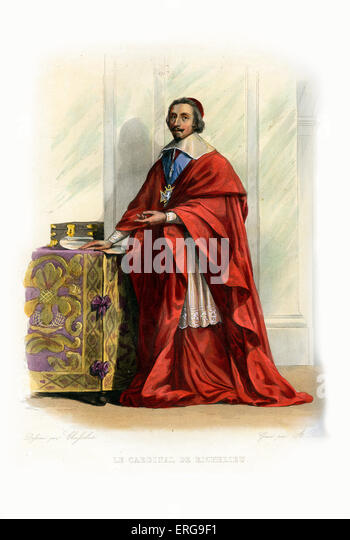 a biography of richelieu a french cardinal Armand-jean du plessis, cardinal et duc de richelieu, byname the red eminence, french l'éminence rouge, (born september 9, 1585, richelieu, poitou, france—died.