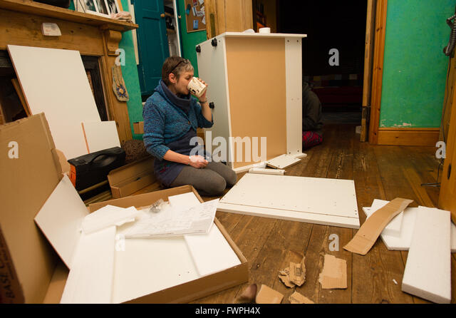Self Assemble Furniture self assembly furniture stock photos & self assembly furniture
