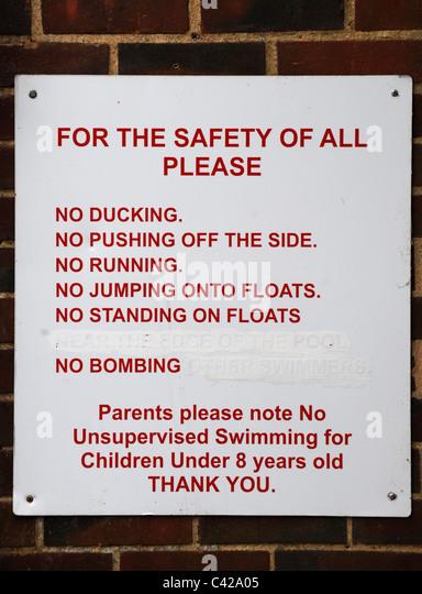 Warning Sign No Children Stock Photos Warning Sign No